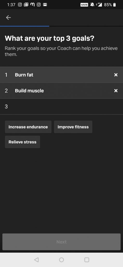 Fitness Goal - Freelectics