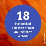 18 Handpicked Selection of Best UX Portfolio's Website
