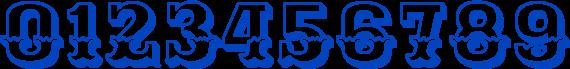 Best Stylish Number Fonts  - Ewert Font