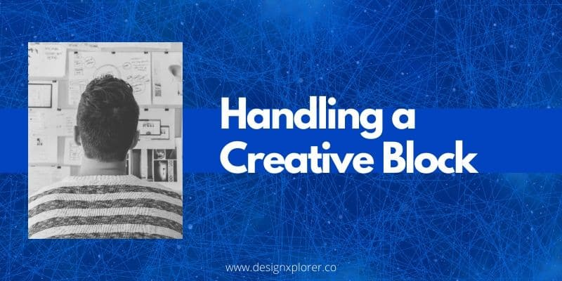 Handling a creative block