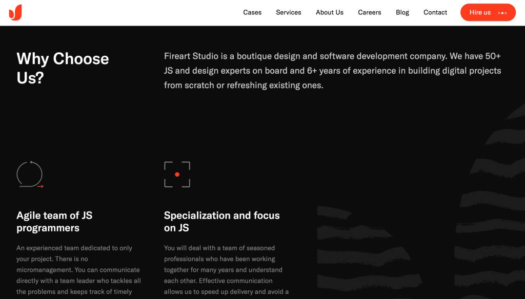 DesignXplorer.co- Fireart Studio's Website Inspiration