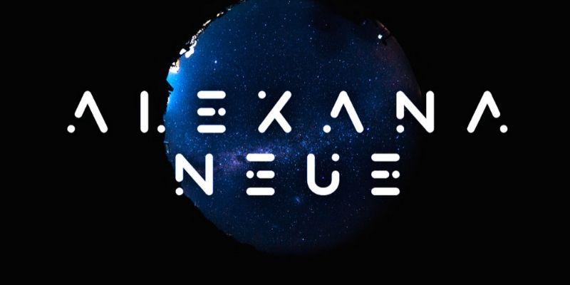 Best Futuristic Fonts - Alexana Neue