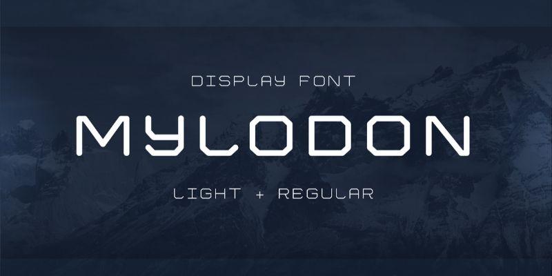 Best Futuristic Fonts - Mylodon