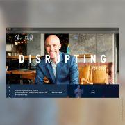 meetchrisfields.com - an authors website - DesignXplorer.co