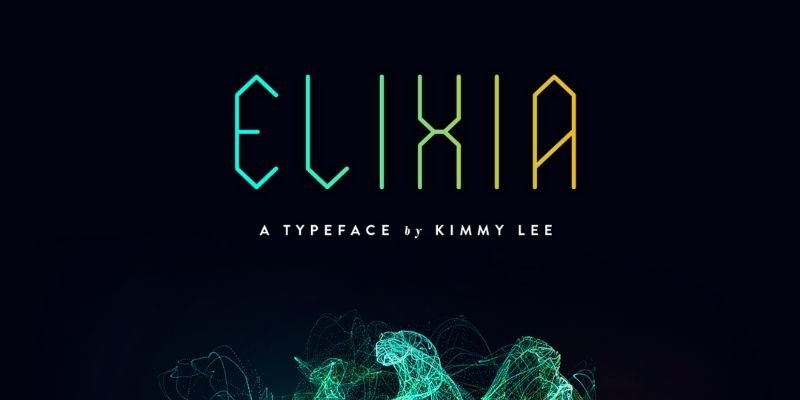 Best Futuristic Fonts - Elixia