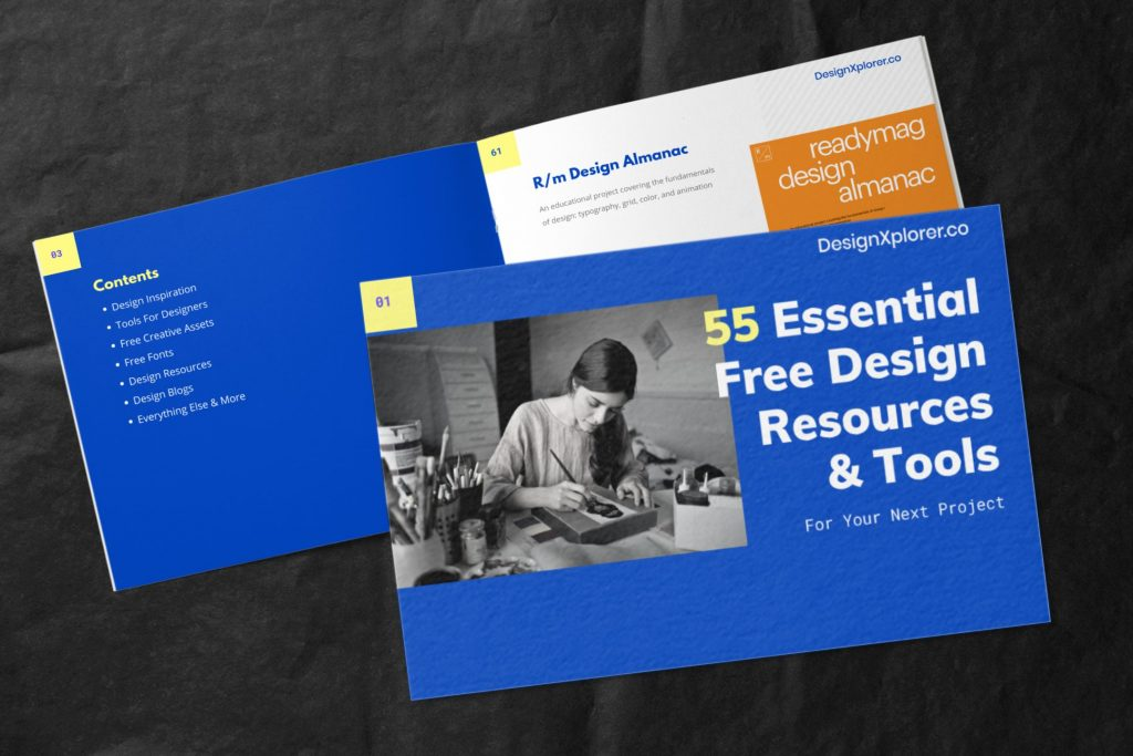 55 Essential Free Design Resources & Tools