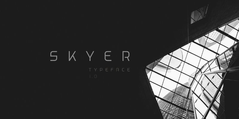 Best Futuristic Fonts - Skyer