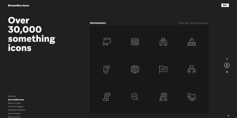 streamline - Best Websites to Download Icons