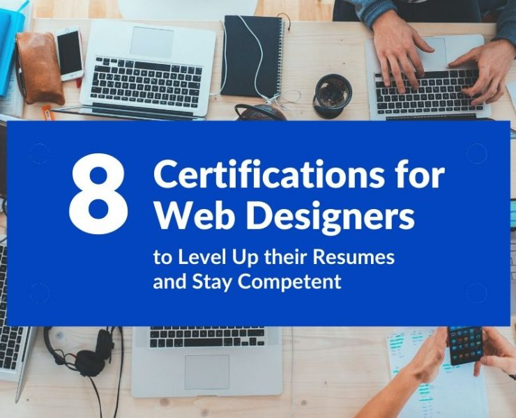 Certifications for Web Designers