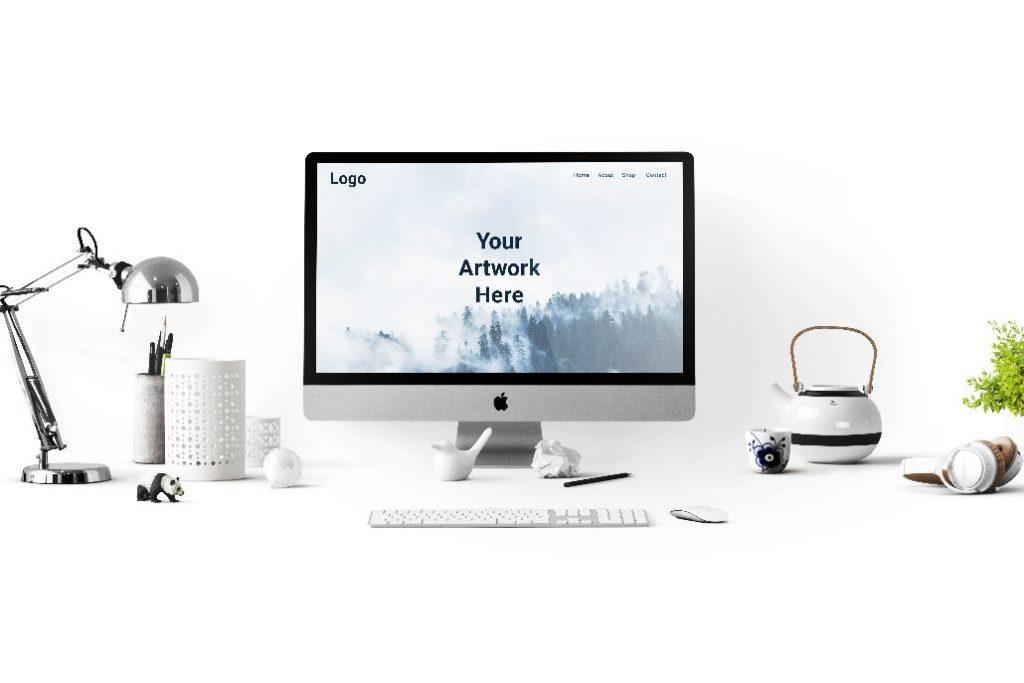 Free iMac Pro Mock-Up
