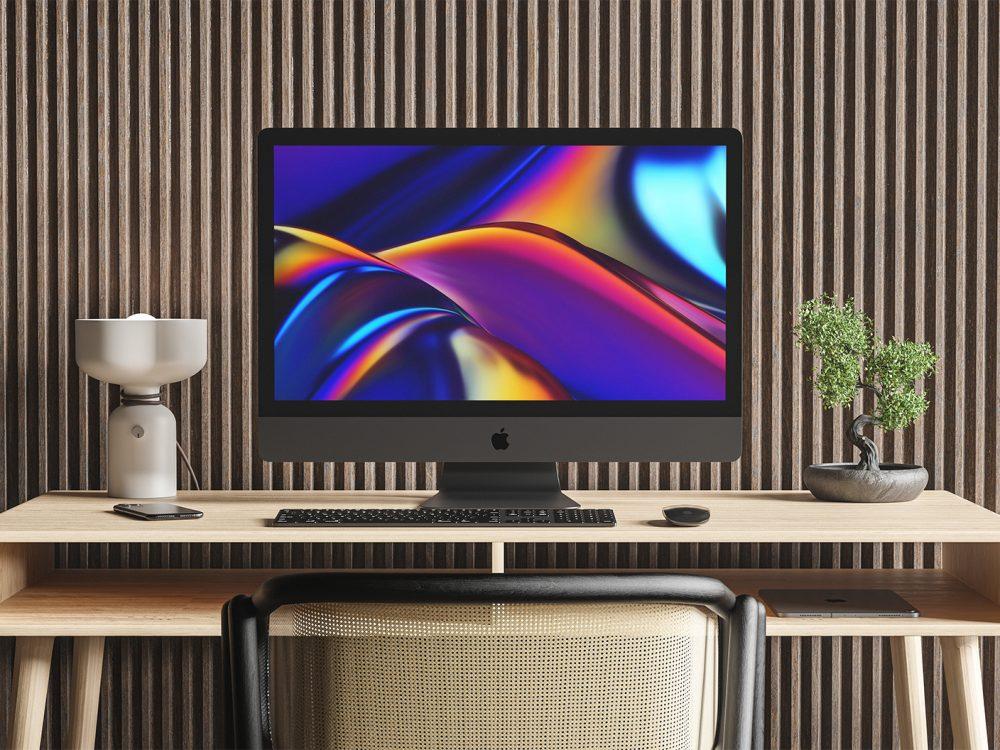 iMac Pro Mockup Workspace