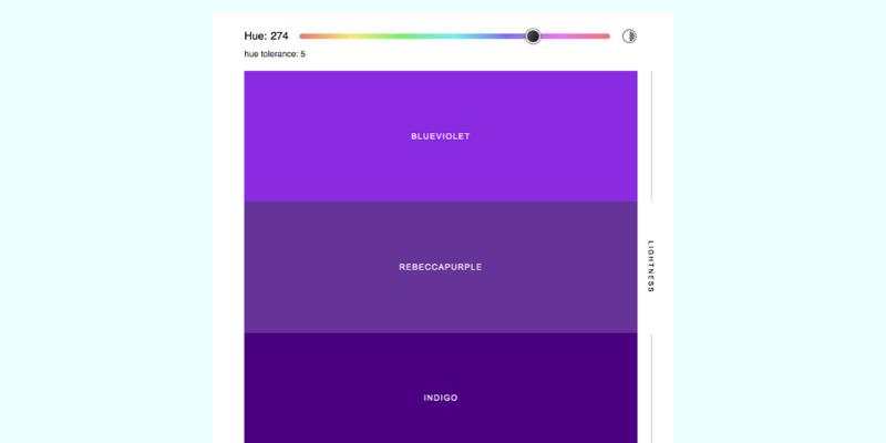 Sorted Colors - DesignXplorer.co
