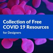 Collection of Free COVID 19 Resources for Designers