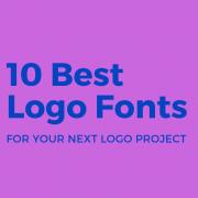 Best Logo Fonts for Designers