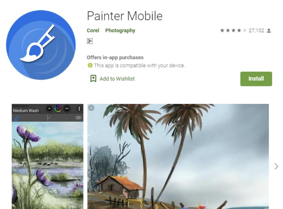 Corel Painter Mobile