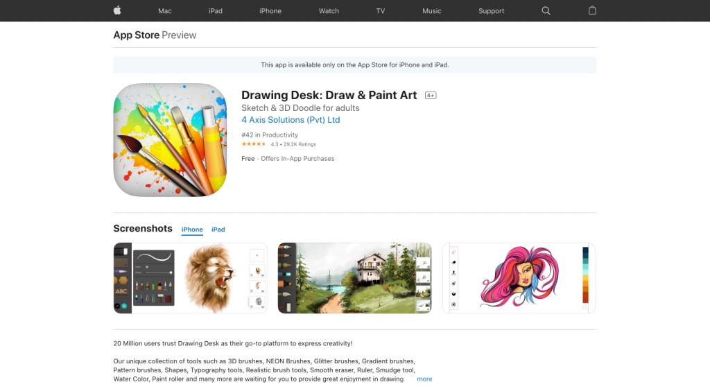 Drawing Desk