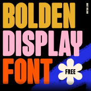 Bolden Display Free Font