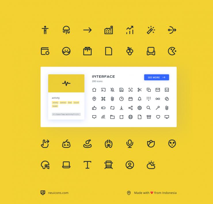 Neu Icons - Free