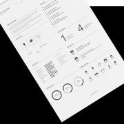 Free Minimal Resume Template