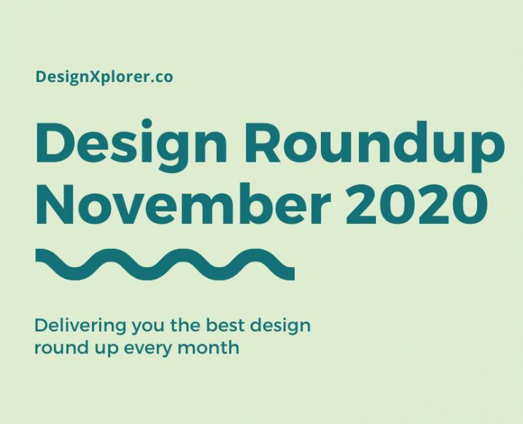 Design Roundup November 2020