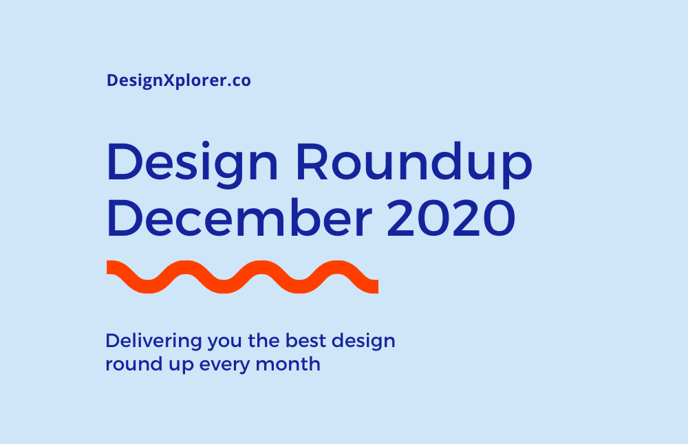 Design Roundup December 2020