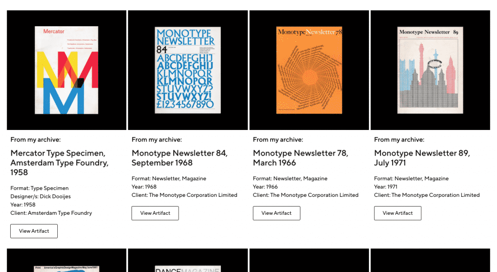 Documenting the history of graphic design