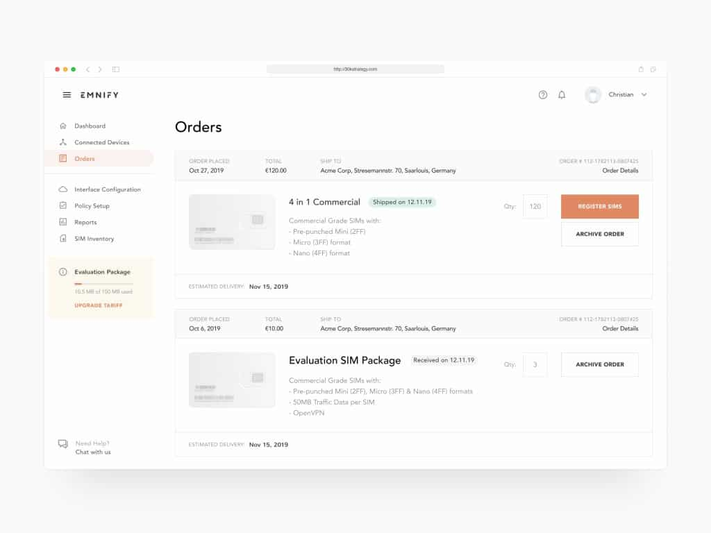 Clean and Simple Design - A Short Guide to Dashboard UI Design