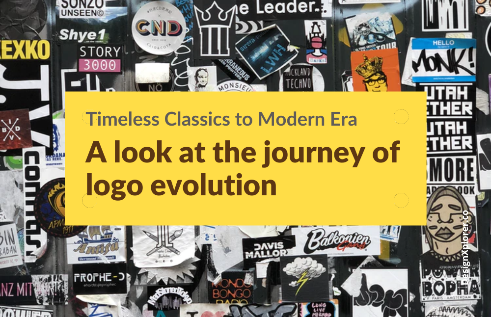Timeless Classics to Modern Era: A look at the journey of logo evolution