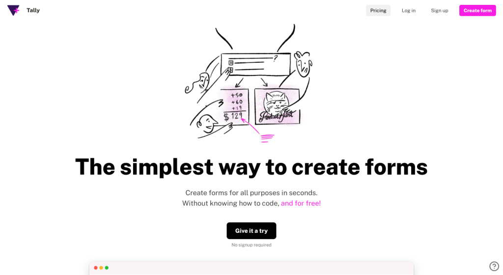 The simplest way to create forms - Design Roundup February 2021